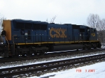 CSX 4782   SD70MAC    Feb 03, 2007